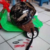 Helm Chip Cip Warkop DKI Bogo Jadul Ori Daleman Tali List Baru 349
