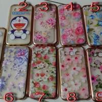 Case Fairy Flower Chrome Samsung J1 Ace, V,J2 Prime,Oppo A37, A39, F1s