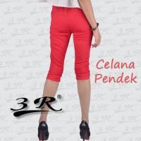 Celana Pendek 3R: Katun Stretch: Bawah Lutut: Size M - XXXL Jumbo Plus
