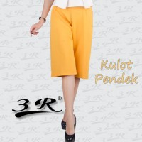 Kulot Scuba Pendek 3R: Ukuran celana dari M s/d XXXL besar