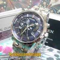 JAM TANGAN PRIA CITIZEN BL8140-80L SILVER BIRU ORIGINAL MURAH