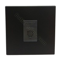Outlet Telepon Socket Telepon Panasonic Style Black