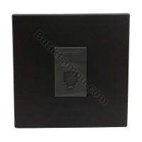 Outlet Telepon Socket Telepon Panasonic Style Black