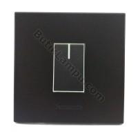 Saklar Engkel Hotel Saklar Tunggal Kecil Panasonic Style Black Series