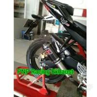 Knalpot Racing Akrapovic Gp M1 Carbon Fullsystem Yamaha R15/Xabre