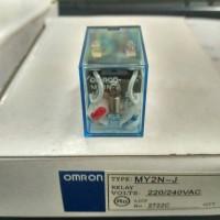 Relay omron MY2N 220/240V