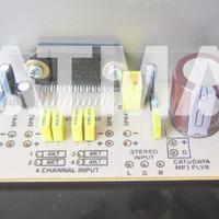 Kit TDA7384 TDA7385 TDA7386 TDA7388 TDA7560 4x 50Watt 12v Total 200W