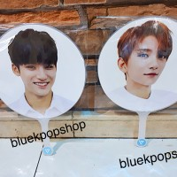 Kipas Jumbo Kpop SEVENTEEN S.Coups MinGyu Joshua JeongHan