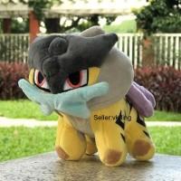 243 - Boneka Raikou Boneka Pokemon 20cm