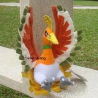 250 - Boneka Ho oh 30cm Boneka Pokemon Boneka hadiah Ulang Tahun