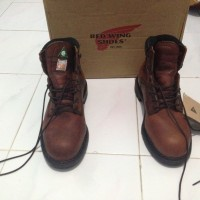 Sepatu Red Wing 3526 Original USA - Steel Toe Safety Shoes