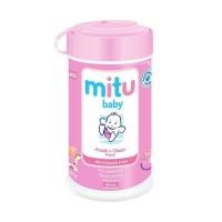 7d18d73b31cf Mitu Baby Wipes Bottle   60 Sheets