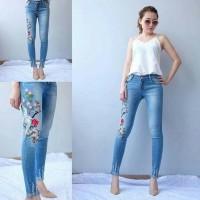 Bird jeans kaki rumbai size jumbo