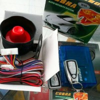 Alarm Cobra W 80 - Car Auto Security System - 2 Remote