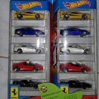SCK Hot Wheels Ferrari Pack Set Isi 10 HW