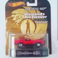 hotwheels hot wheels James Bond '71 Mustang Mach 1