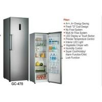 chiller cabinet gea GC-470 / kulkas chiller / kulkas rumah tangga