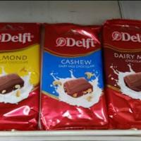 Jual Delfi Diary Milk Cashew Almond Fruit Nut 165gr Murah!!! Murah
