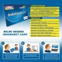 kartu E-Toll Indomaret Card