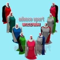 Kaos Olahraga Muslim/Baju Atasan Olahraga Model Muslim
