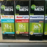 Jual Garnier Men Power White....Agno Fight...Turbo Light Mois 20ml7 Murah