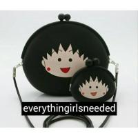 tas dan dompet chibi maruko chan