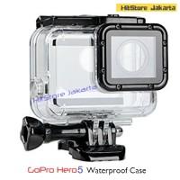 Jual Waterproof Case For GoPro Hero 5 Black Housing Underwater IPX-8 45M Murah