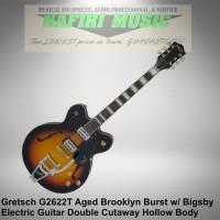 Gitar Gretsch G2622T Streamliner Hollowbody Aged Brooklyn Burst Bigsby