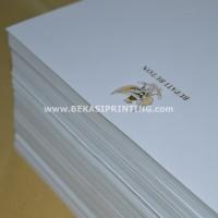 Cetak Kop Surat HVS 100 Gram + Logo Garuda Emas Instansi Pemerintahan