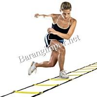 Jual Agility Ladder 8Kotak/Lari/Push up/iron gym/fitness/alat olahraga/Slim Murah