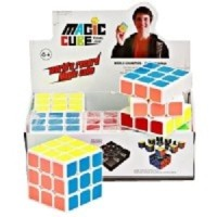 Rubik 3x3 Yong Jun Magic Cube World Champion Kotak 6pcs Eceran SNI