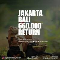 Tiket Promo Fixed AirAsia Jakarta - Bali