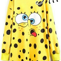 model baju mini dress terkini dan murah T DRESS JUMBO SPOMBOB