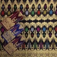 KPR027 Kain Batik Prada Cantik Murah Bawahan Kebaya Wisuda Modern