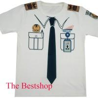 Baju Kaos Profesi Anak - Masinis