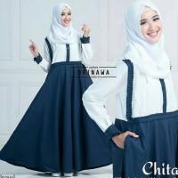 Busana Muslim Wanita Dress Chita Terbaru Harga Terjangkau Trendy