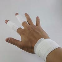 finger tape / wrist tape / sock tape (self adhesive cohesive bandage)