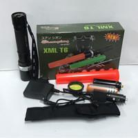 XML T6 senter police Swat lampu led t6 SX-8008T