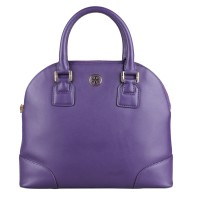 Tory Burch Dome Purple Crossbody Bag