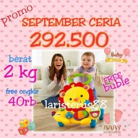 Jual Fisher Price Toys Baby Walker Musical Lion Murah
