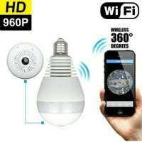 Spy cam | hidden camera | bentuk bola lampu / bulb cam ip camera wifi