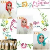 Jual hijab / jilbab segiempat organza premium Murah