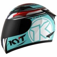 Helm KYT R10 seri Race Aqua