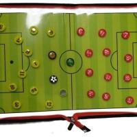 papan strategi pelatih tactic board magnet sepakbola futsal soccer