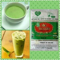 Jual Thai Green Tea Number One Brand 200gr Asli Import Thailand Teh Milk Murah