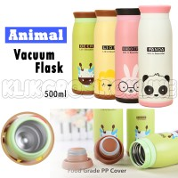 Thermos / Termos Animal Vacuum Tumbler Panas/dingin 500ml- Qb T2332-97