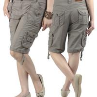 PROMO Celana Casual Wanita | Celana Pendek Wanita | Celana Cargo Wanit