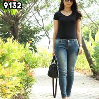 JUAL Celana Skinny Jeans Wanita Panjang Denim Celana Pensil 9132 ORIGI
