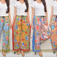 NEW Celana Kulot Batik Satin Silk wanita,cewek,hadiah,pria