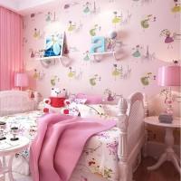 wallpaper stiker dinding motif barbie/premium/termurah